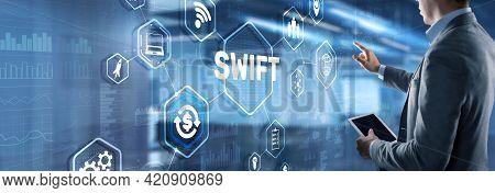 Swift. Society For Worldwide Interbank Financial Telecommunications. Financial Banking Regulation Co