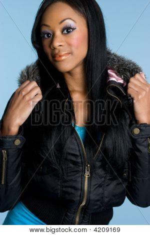 Black Fashion Lady