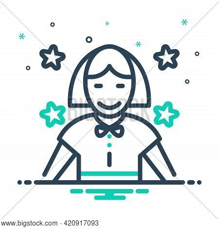Mix Icon For Child Baby Kid Tad Laddie Youngling Infant