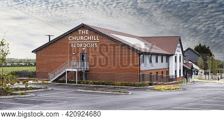 Swindon, Uk - May 17, 2021: The Churchill Bedrooms, Royal Wootton Bassett, Wiltshire - The New Accom