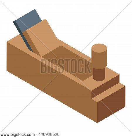 Wood Working Instrument Icon. Isometric Of Wood Working Instrument Vector Icon For Web Design Isolat