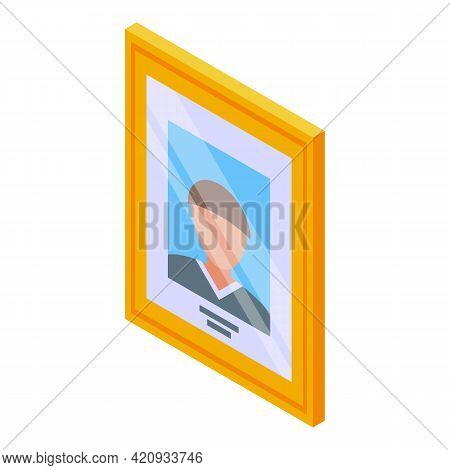 Successful Career Image Icon. Isometric Of Successful Career Image Vector Icon For Web Design Isolat