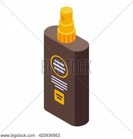 Solarium Spray Icon. Isometric Of Solarium Spray Vector Icon For Web Design Isolated On White Backgr