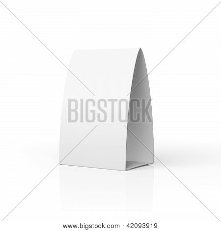 Blank Table Tent