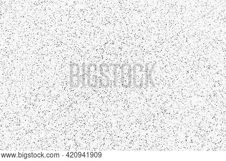 Black And White Pattern Of Terrazzo Floor Texture Background. Terrazzo Flooring. Terrazzo Floor Seam