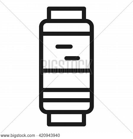 Gadget Tracker Icon. Outline Gadget Tracker Vector Icon For Web Design Isolated On White Background