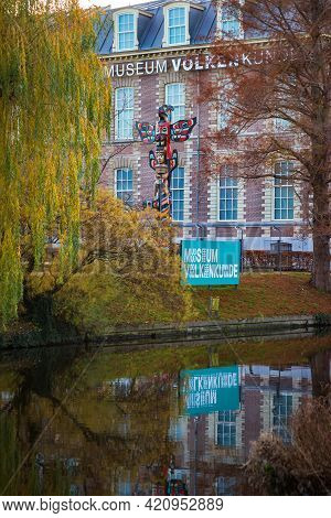 16 November 2020, Leiden, Netherlands, The National Museum Of Ethnology, Is An Ethnographic Museum I