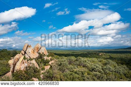 Sacred Rocks At Ndzalama Game Reserve Near Gravelotte, Limpopo, South Africa