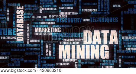 Data Mining Information Structure and Marketing Statistics