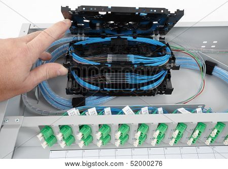 Fiber Optic Splice Cassettes