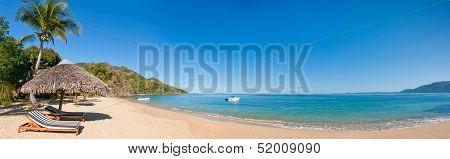 Panoramic Tropical Beach