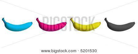 Cmyk Banana