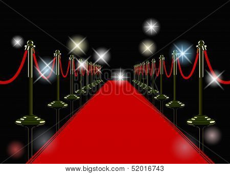 vector red carpet