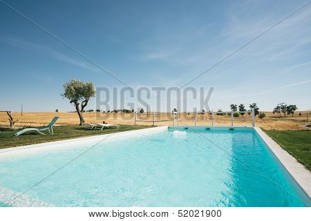 Country Tourism Lounge Pool Landscape