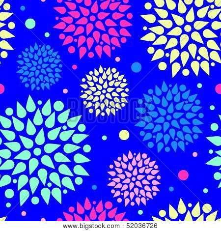 vector colorful bursts seamless pattern background. This is file of EPS8 format. poster