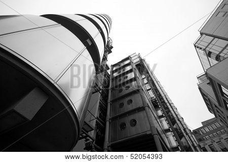 London - September 21: The Lloyds Building on September 21, 2013, During Open House