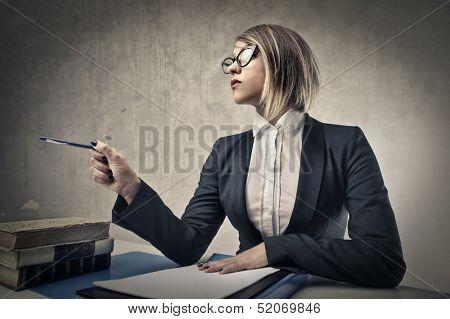 bad teacher examines students