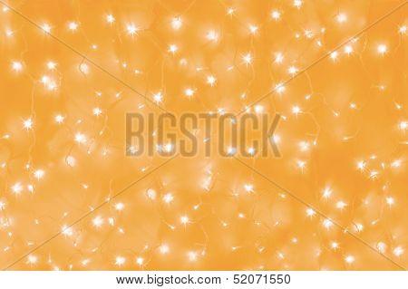 yellow led lights background