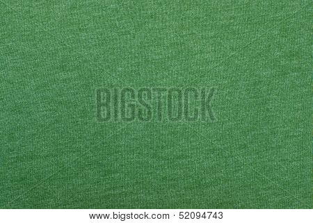 Green texture of fabric from a textile material poster