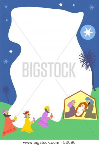 Nativity Border