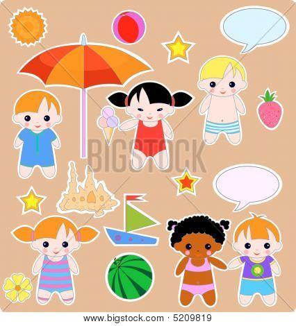 Children Summer Set