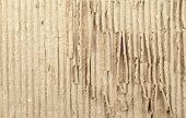 Grunge close up texture of corrugated recycled carton poster