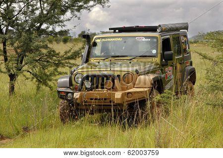 Gecko Pearl Green Jeep Wrangler Rubicon