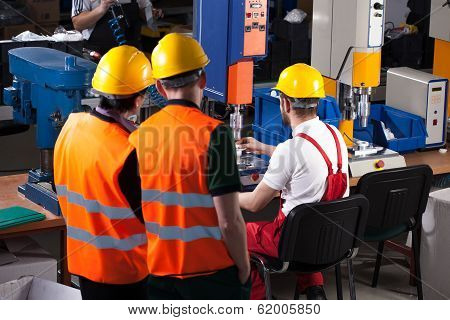 Labourers In Factory