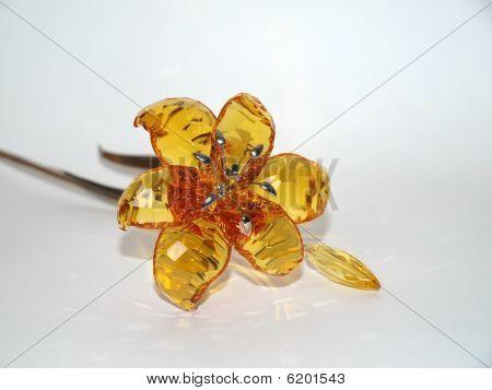 Topaz Crystal Flower
