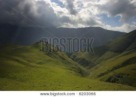 Kaukasus-Landschaft