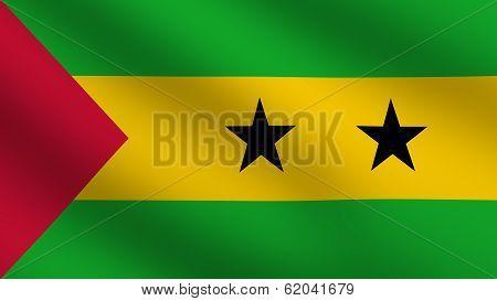 Sao Tome Flag