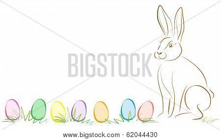 Easter Bunny Easter Eggs