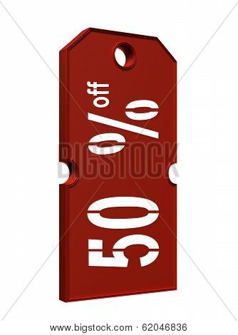 Price Tag With Discount