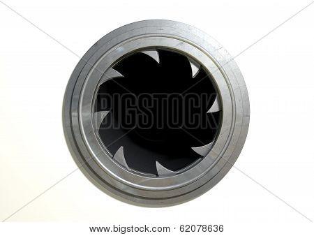 Round Portal Futuristic Door