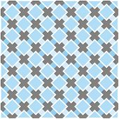 Sweet blue, white and dark grey vector plaid background for website, wallpaper, desktop, invitations, wedding or birthday card and scrapbook. Seamless retro pattern. poster