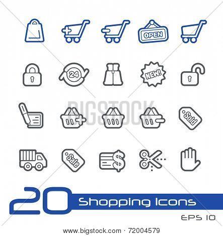 e-Shopping Icons // Line Series