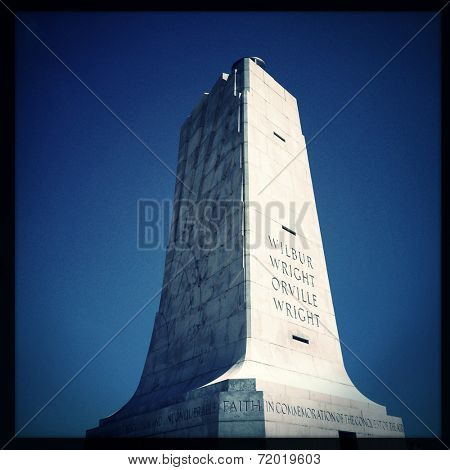 Instagram filtered image of The Wright Brothers National Memorial, Kill Devil Hills, North Carolina