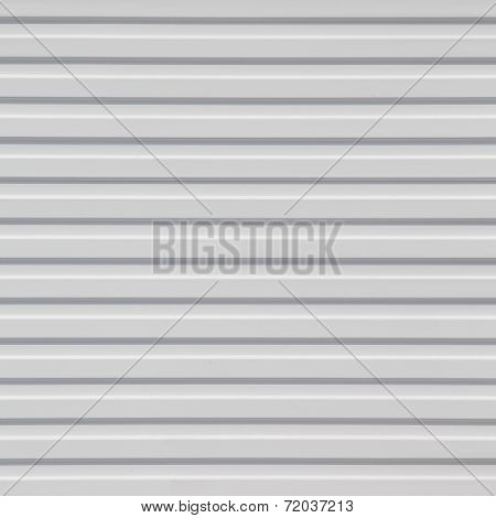 white Corrugated metal texture