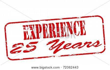 Experience Twenty Five Years