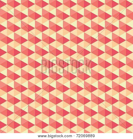 creative hexagonal pattern design background vector