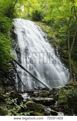 Crabtree Falls In North Carolina