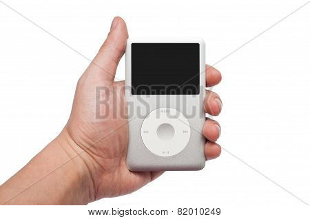 Ipod Classic 160 Gb In Hand