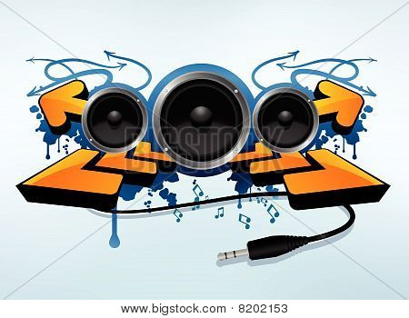 Abstract speakers compisition