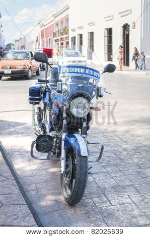 Mexican Police Motorcycle