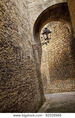 Street Of Sarlat, France