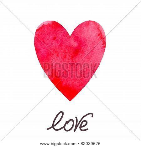 Waterccolor heart