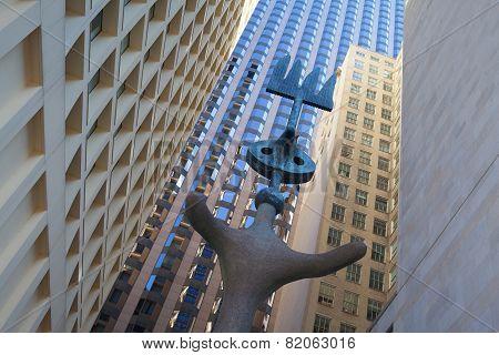 Sculpture By Spanish Artist Joan Miro.