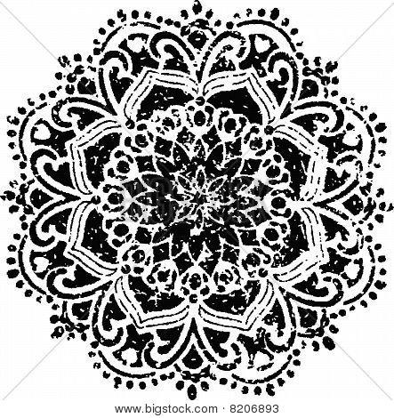 floral symbol emblem design