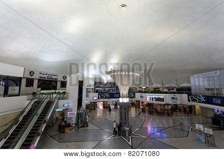 Interior Of Sharjah International Airport