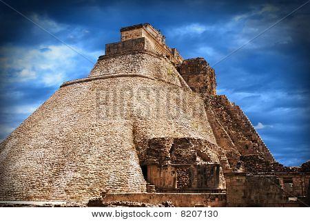 Uxmal pyramid